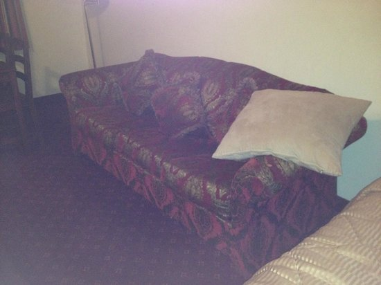 Niagara Lodge & Suites: Couch