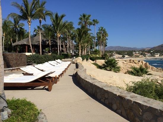 One & Only Palmilla: Just one of the areas to lounge and enjoy the beach!