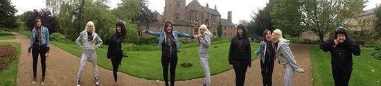 The Bishop's Palace and Gardens: More panorama fun