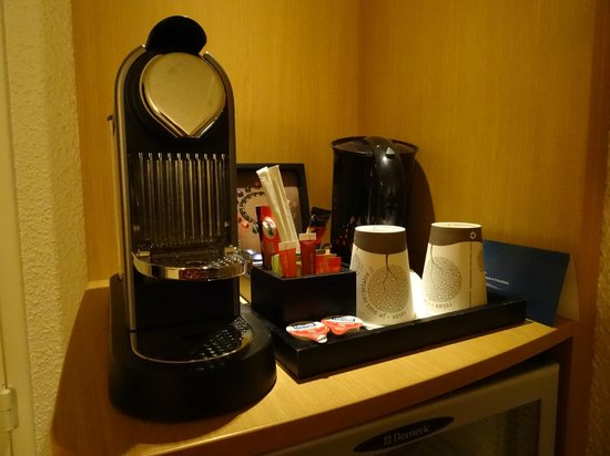 Novotel Paris CDG Terminal: Amenities for executive room