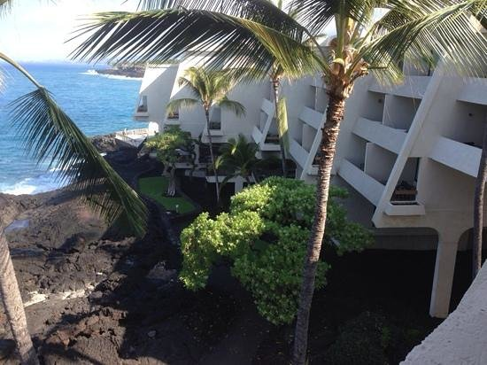 Sheraton Kona Resort & Spa at Keauhou Bay: View from our Ocean Front room