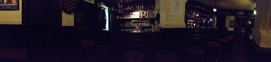 O'Dowds of Roundstone: Panoramic as taken from the pub 'fireplace' table