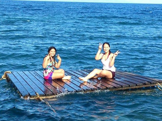 Dumaguete Springs Beach Resort: Sis rhei and me