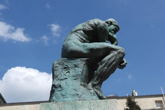 Musée Rodin : Мыслитель.