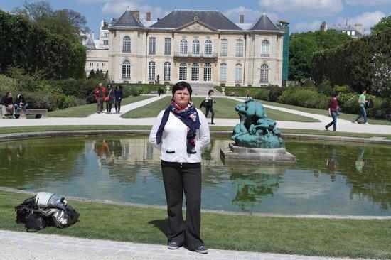 Musée Rodin : Я в саду музея.