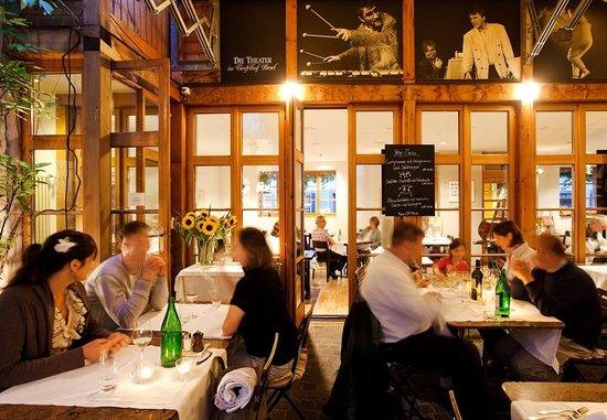 Der Teufelhof Basel: Restaurant Atelier