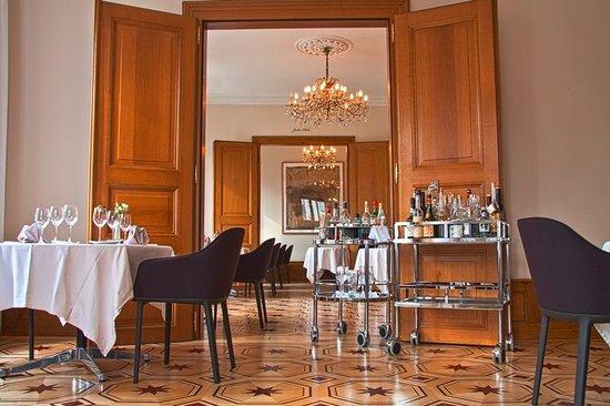Der Teufelhof Basel: Restaurant Bel Etage