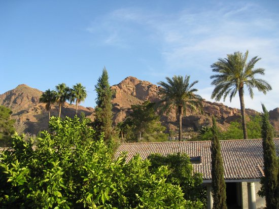 Omni Scottsdale Resort & Spa at Montelucia: Can't beat a room view like this!