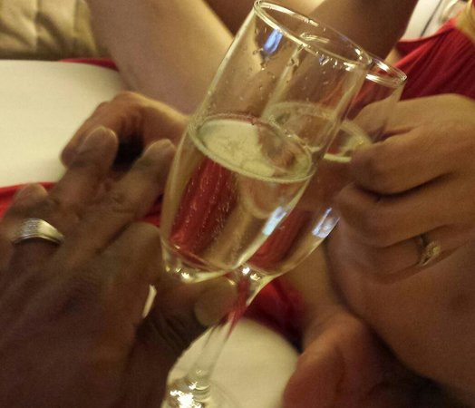 Hyatt Regency Sarasota: Toast to our love