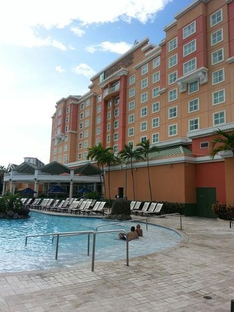 Embassy Suites by Hilton San Juan Hotel & Casino: vista desde el pool bar