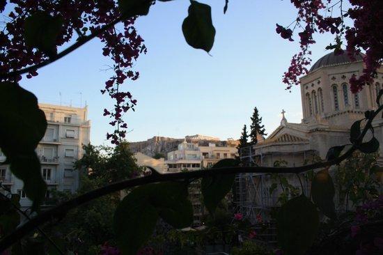 Hotel Metropolis: Nuestras vistas a la Acropolis