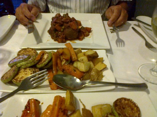 Malet Restaurant : Main course
