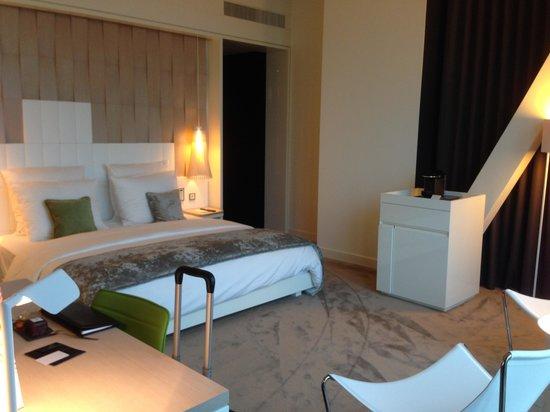 Melia Vienna: room layout