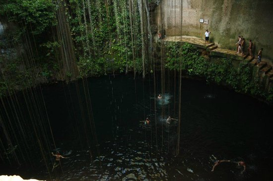 Hotel Riu Playacar: cenote