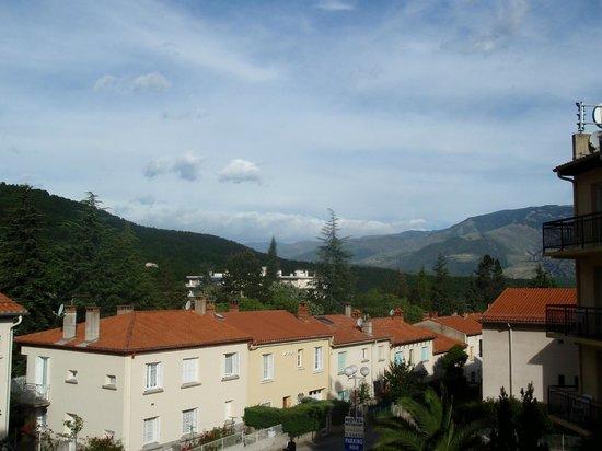 Hôtel Princess : Prachtig uitzicht vanaf het balcon