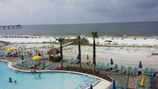 Holiday Inn Resort Fort Walton Beach: Our view from our room