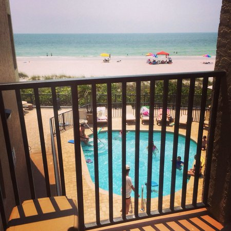 Belleair Beach Club: View from room #216