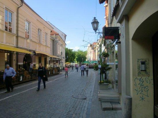 Radisson Blu Hotel Lietuva: old town