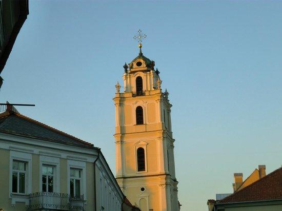 Radisson Blu Hotel Lietuva: old town Chruch