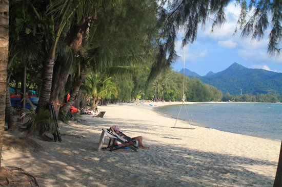 Koh Chang Paradise Resort & Spa: Strand