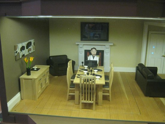 The Cardiff Story: A room in the model house