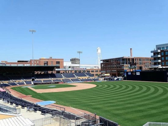 Durham Bulls Athletic Park : view from upper deck