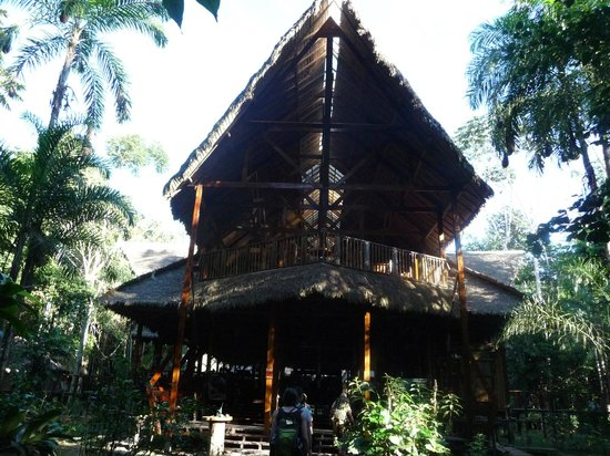 Refugio Amazonas: Entrance
