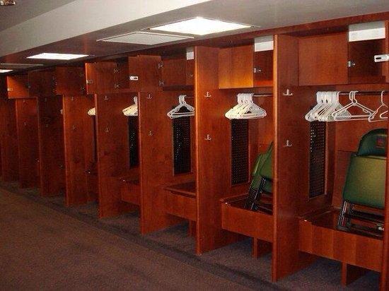 Coors Field: Locker Room