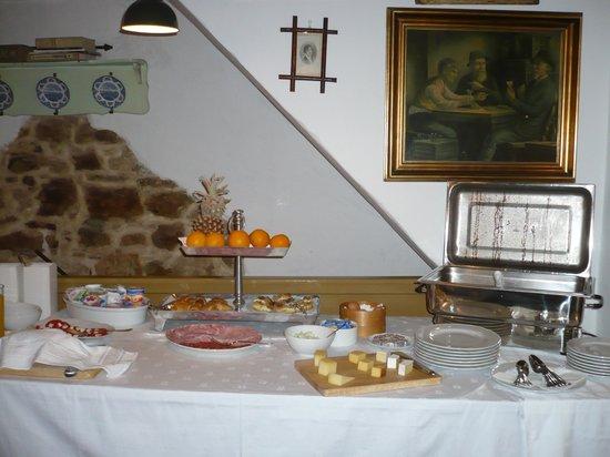 Casa Garzotto : Food at breakfast