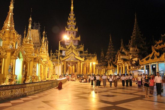 Pagode Shwedagon : Великолепие