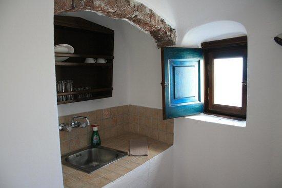 Afroessa Hotel: La cocina de la habitación