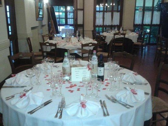 Locanda di Carsulae: Dettaglio tavolo