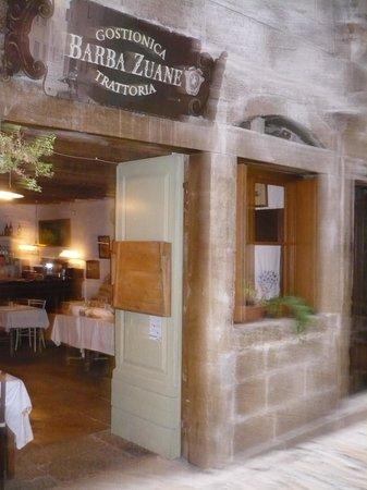 Casa Garzotto : Entrance of breakfast room