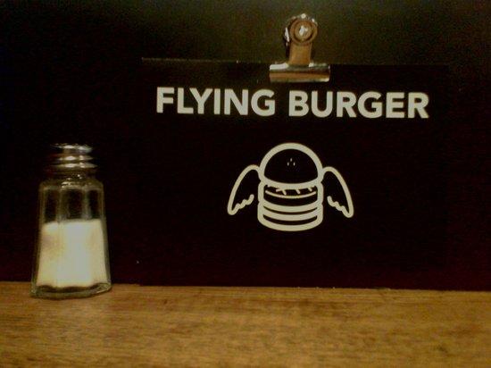 Blend Hamburger Argout : flying burger
