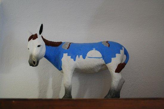 Afroessa Hotel: El burro, símbolo de Santorini