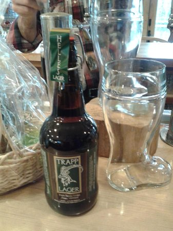 The Delibakery at Trapp Family Lodge: One of the beers