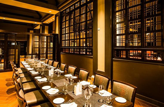 Pinzimini: A private dining room is available for large parties