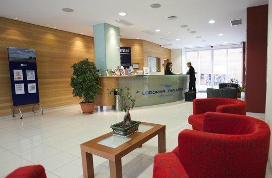 Hotel Lodomar Spa & Talasoterapia: Recepción