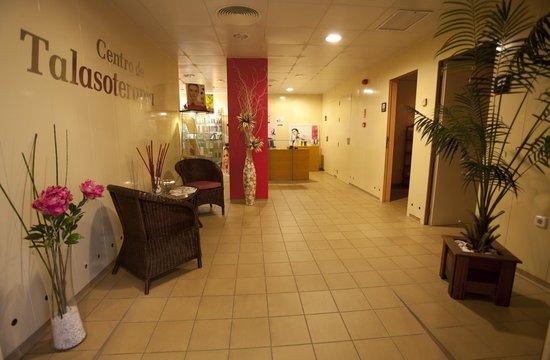 Hotel Lodomar Spa & Talasoterapia: Recepción SPA