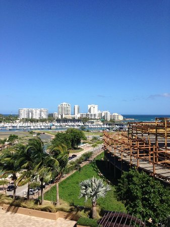 Sheraton Puerto Rico Hotel & Casino: View from our room