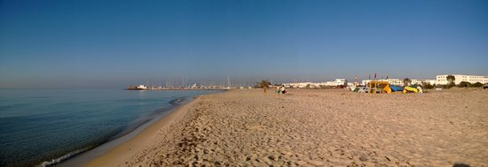 Hotel Le Royal Hammamet: Beach