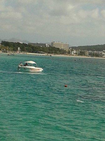 Apartamentos Siesta I: boat view