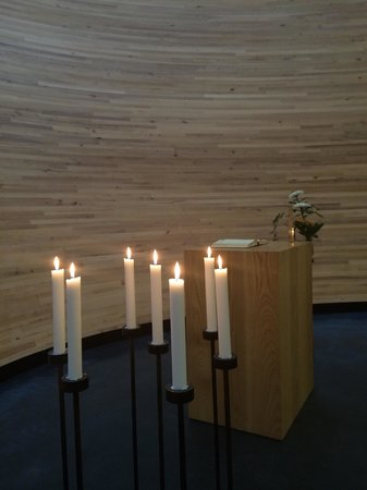 Kamppi Chapel of Silence : Tranquility rules here ...