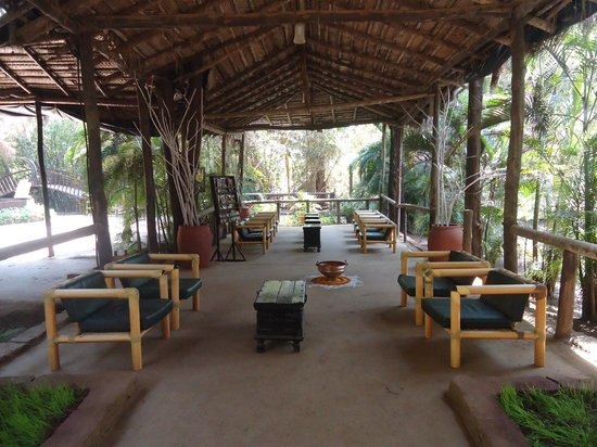 Lounge picture of exotica beach resort dive agar - Resorts in diveagar with swimming pool ...