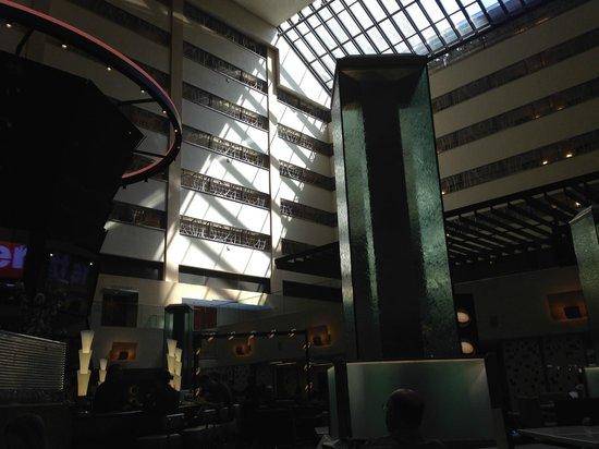 New York Marriott Marquis: Lobby View
