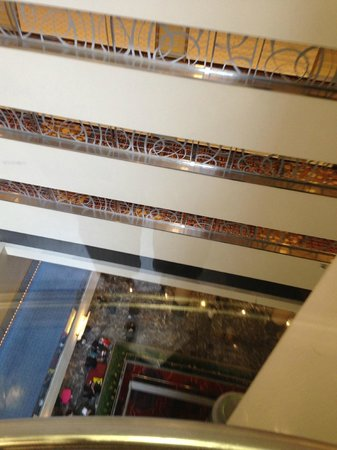 New York Marriott Marquis : Lift View