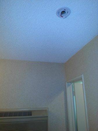 Caliente Tropics Resort: Missing smoke detector