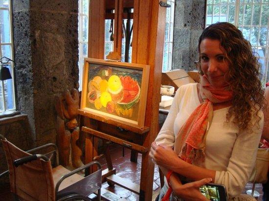 Musée Frida Kahlo : Dentro del estudio de Frida Kahlo en su casa museo