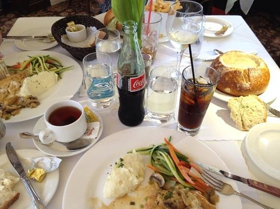 Scoma's Of Sausalito: Lunch for four