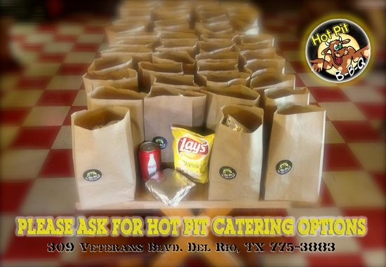 Hot Pit Bar B Q: Catering Options